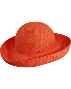 Betmar Women's Classic Roll-Up Coral Sun Hat, Multi, hi-res