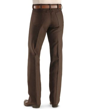 Wrangler Jeans - Wrancher Solid Regular Fit Stretch - Big, Brown, hi-res