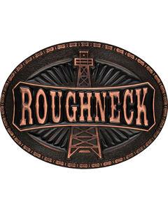 Montana Silversmiths Men's Copper-Tone Roughneck Marquee Attitude Buckle, , hi-res