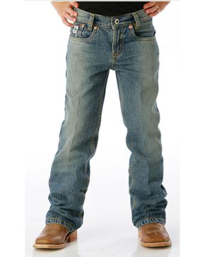 Cinch Boys' Low Rise Slim Fit Jeans - 4-7, Denim, hi-res