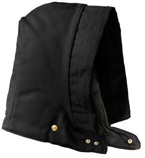 Carhartt Men's Arctic Quilt-Lined Duck Hood, Black, hi-res