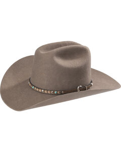 Phunky Horse Studded Leather Hat Band , , hi-res