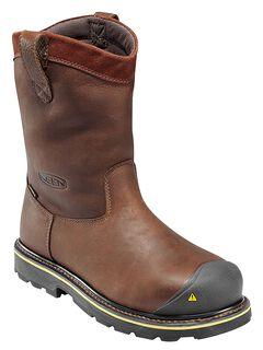 Keen Men's Dallas Wellington Waterproof Boots - Steel Toe, , hi-res