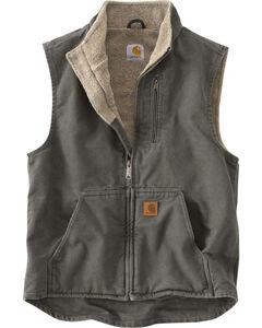 Carhartt Sherpa Lined Work Vest, , hi-res