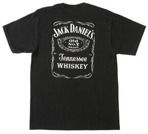 Jack Daniel's Label T-Shirt, Black, hi-res