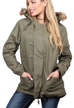 Shyanne Women's Anorak Hooded Jacket, , hi-res
