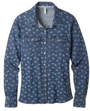 Mountain Khakis Women's Annie Stretch Denim Shirt, Multi, hi-res