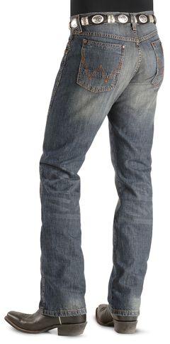 Wrangler Jeans - Dark Knight Denim Retro Slim Fit, , hi-res