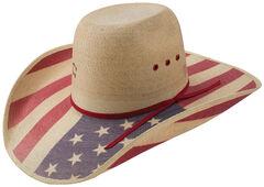Charlie 1 Horse Natural Hero Western Hat, , hi-res