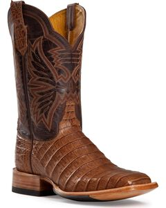 Cinch Caiman Cowgirl Boots - Square Toe, , hi-res