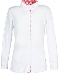 Dublin Kids' Comfort Dry Long Sleeve Show Shirt, , hi-res