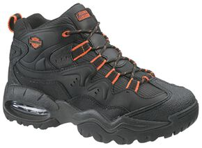 Harley Davidson Crossroads II Shoes - Steel Toe, Black, hi-res
