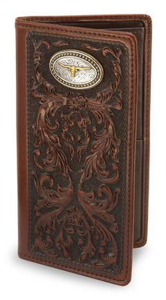 Texas Heritage Leather Rodeo Wallet, , hi-res