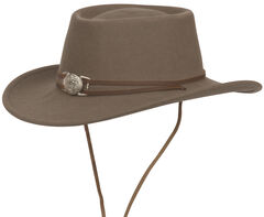 Silverado Unisex Dusty Crushable Wool Western Hat, , hi-res
