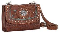 American West Lady Lace Crossbody Bag, , hi-res