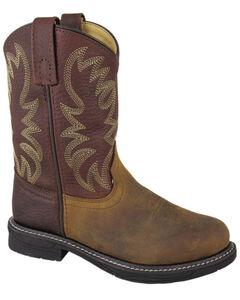 Smoky Mountain Boys' Buffalo Wellington Western Boots - Round Toe, , hi-res