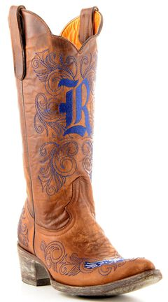 Gameday Rice University Cowgirl Boots - Pointed Toe, , hi-res