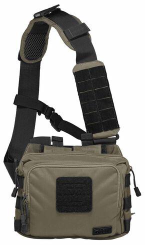 5.11 Tactical 2-Banger Bag, Dark Brown, hi-res