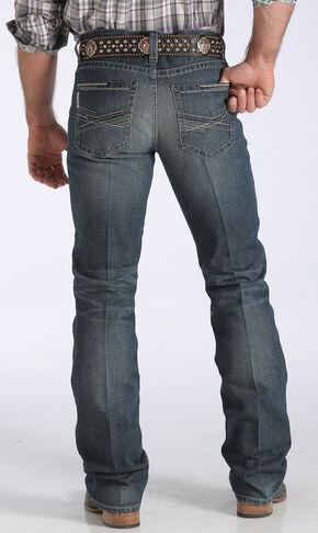 Cinch Men's Ian Mid-Rise Slim Bootcut Jeans, Med Stone, hi-res