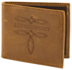 Cody James Men's Western Stitched Wallet, , hi-res