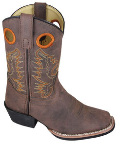 Smoky Mountain Boys' Memphis Western Boots - Square Toe, , hi-res
