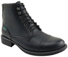 Eastland Men's Black High Fidelity Cap Toe Boots , , hi-res