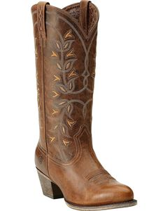 Ariat Desert Holly Cowgirl Boots - Round Toe, , hi-res