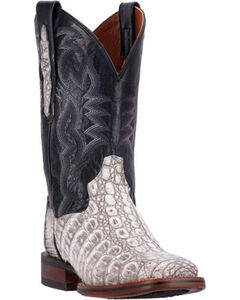 Dan Post Everglades Caiman Cowgirl Boots - Square Toe, , hi-res