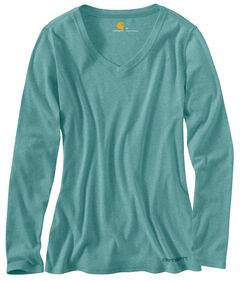 Carhartt Calumet Long Sleeve V-Neck Shirt, , hi-res