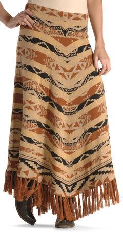 Tasha Polizzi Women's Azteca Blanket Skirt , , hi-res