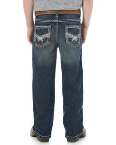 Wrangler Rock 47 Boys' Bootcut Electric Wash Jeans - 4-7, , hi-res