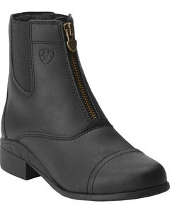 Ariat Kids' Scout Zip Paddock Riding Boots, , hi-res