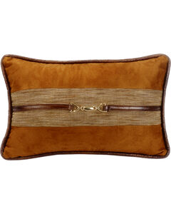 HiEnd Accent Multi Highland Lodge Suede Buckle Pillow, , hi-res