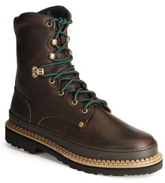 "Georgia Giant 8"" Lace-Up Work Boots, , hi-res"