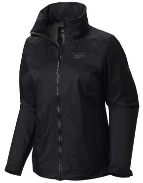 Mountain Hardwear Women's Black Plasmic Ion Jacket, Black, hi-res