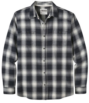 Mountain Khakis Men's Saloon Cream Flannel Shirt, Cream, hi-res