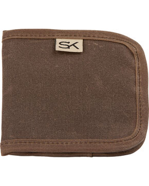 Stormy Kromer Men's Reserve Wallet, Dark Brown, hi-res