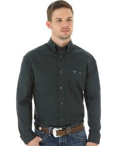 Wrangler 20X Advanced Comfort Men's Charcoal Button Shirt, , hi-res