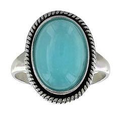 Montana Silversmiths Women's Misty Blue Pool Ring  , , hi-res
