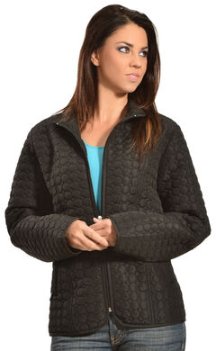 Jane Ashley Women's Quilted Circle Jacket, , hi-res