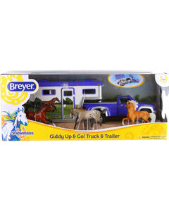 Breyer Giddy Up & Go! Truck & Trailer Toy Set , , hi-res