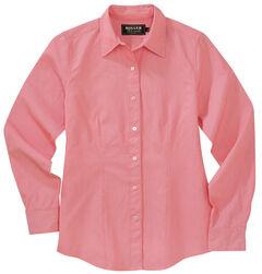 Miller Ranch Women's Pink Dobby Stripe Dress Shirt, , hi-res
