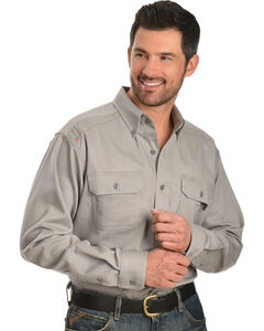 Ariat Flame Resistant Solid Work Shirt - Big and Tall, , hi-res