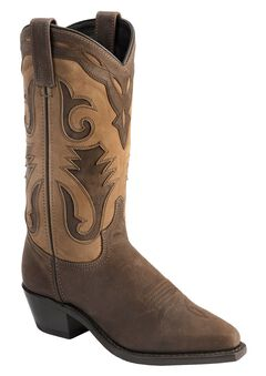 Sage by Abilene Inlay Cowgirl Boots, , hi-res