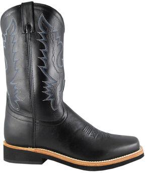 Smoky Mountain Men's Judge Cowboy Boots - Square Toe, Black, hi-res