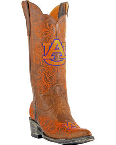 Gameday Auburn University Cowgirl Boots - Pointed Toe, , hi-res