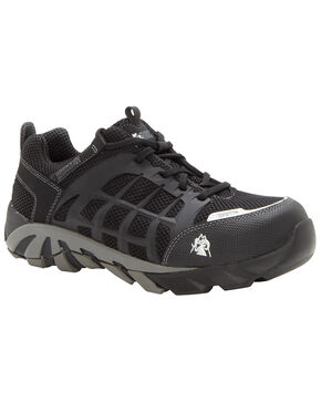 Rocky TrailBlade Waterproof Athletic Work Shoes - Composition Toe, Black, hi-res