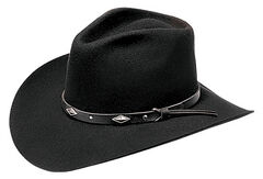 Master Hatters Men's Diamond Wool Felt Cowboy Hat, , hi-res