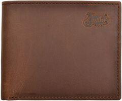Justin Distressed Leather Bi-fold Wallet, , hi-res