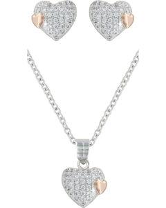 Montana Silversmiths Kindred Hearts Jewelry Set, , hi-res